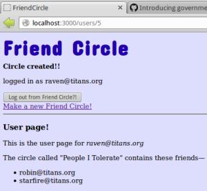 My Friend Circle